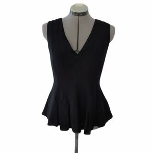 H&M peplum dress top